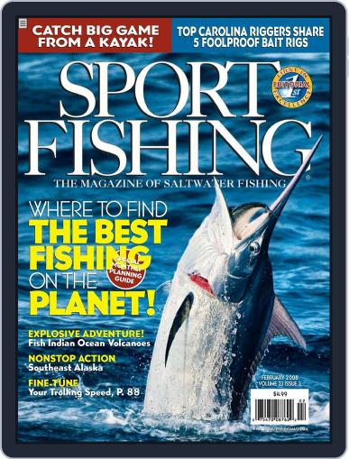Sport Fishing (Digital) January 20th, 2008 Issue Cover