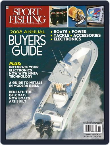 Sport Fishing September 22nd, 2007 Digital Back Issue Cover