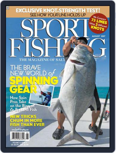 Sport Fishing (Digital) June 18th, 2007 Issue Cover