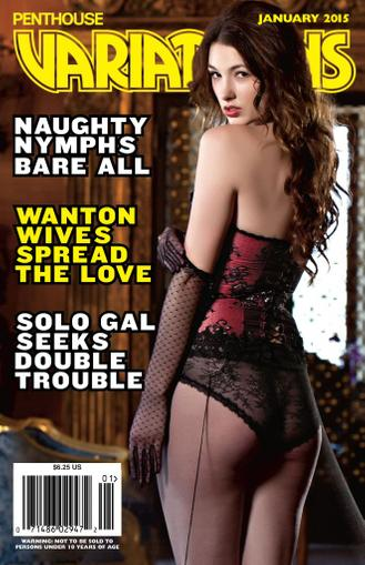Penthouse Variations (Digital) November 24th, 2014 Issue Cover