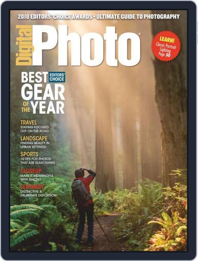 Digital Photo  Magazine December 1st, 2018 Issue Cover
