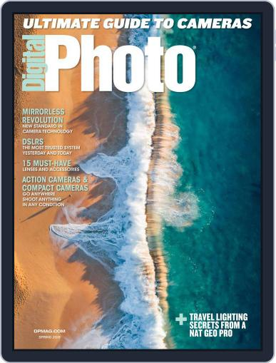 Digital Photo February 19th, 2018 Digital Back Issue Cover
