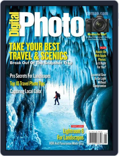 Digital Photo  Magazine July 1st, 2015 Issue Cover