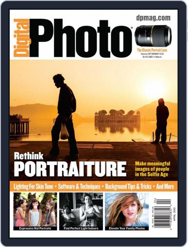 Digital Photo March 1st, 2015 Digital Back Issue Cover