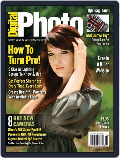 Digital Photo  Magazine June 1st, 2014 Issue Cover