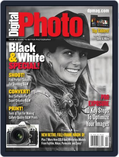 Digital Photo  Magazine February 13th, 2014 Issue Cover