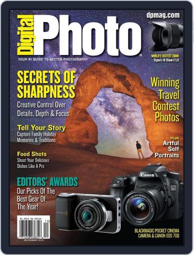 Digital Photo December 13th, 2013 Digital Back Issue Cover