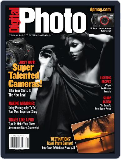 Digital Photo July 1st, 2013 Digital Back Issue Cover