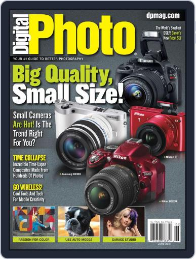 Digital Photo June 1st, 2013 Digital Back Issue Cover