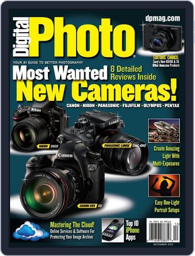 Digital Photo  Magazine December 1st, 2012 Issue Cover