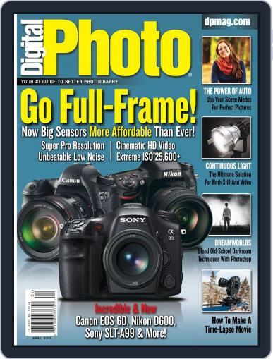 Digital Photo  Magazine March 1st, 2012 Issue Cover