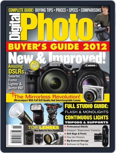 Digital Photo  Magazine October 25th, 2011 Issue Cover