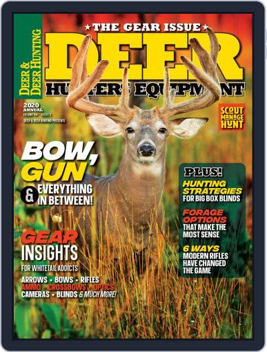 Deer & Deer Hunting June 5th, 2020 Digital Back Issue Cover