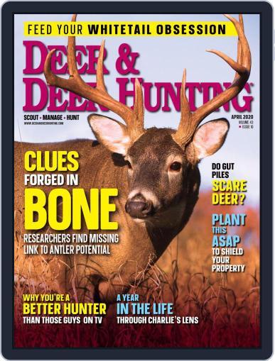 Deer & Deer Hunting April 1st, 2020 Digital Back Issue Cover