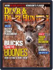 Deer & Deer Hunting (Digital) Subscription February 1st, 2020 Issue