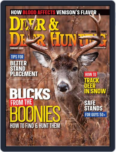 Deer & Deer Hunting February 1st, 2020 Digital Back Issue Cover