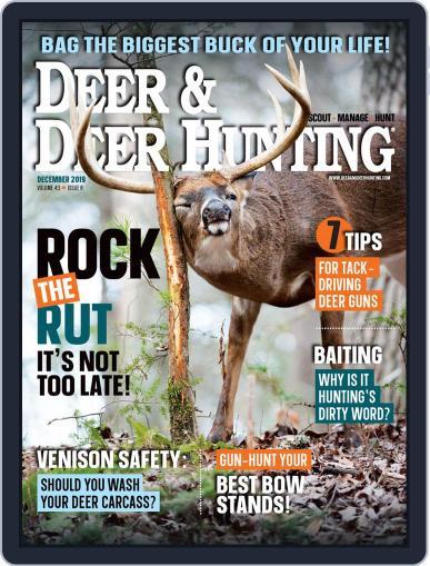 Deer & Deer Hunting December 1st, 2019 Digital Back Issue Cover