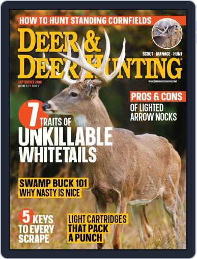 Deer & Deer Hunting September 1st, 2019 Digital Back Issue Cover