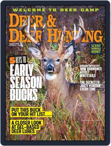 Deer & Deer Hunting (Digital) August 1st, 2019 Issue Cover