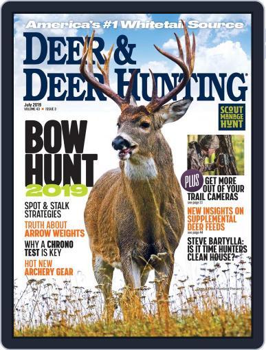 Deer & Deer Hunting July 1st, 2019 Digital Back Issue Cover