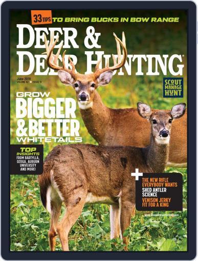 Deer & Deer Hunting June 1st, 2019 Digital Back Issue Cover