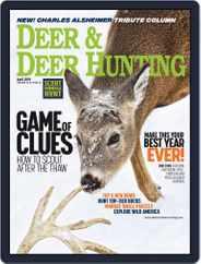 Deer & Deer Hunting (Digital) Subscription April 1st, 2019 Issue