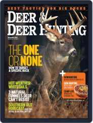 Deer & Deer Hunting (Digital) Subscription November 1st, 2018 Issue