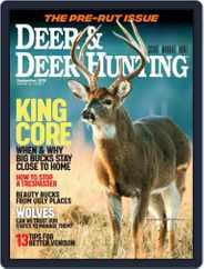 Deer & Deer Hunting (Digital) Subscription September 1st, 2018 Issue