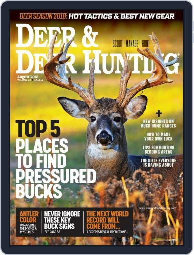 Deer & Deer Hunting August 1st, 2018 Digital Back Issue Cover