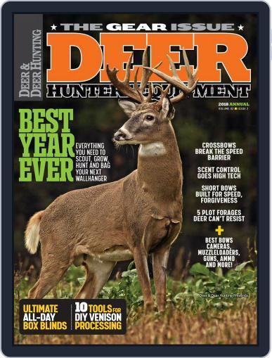 Deer & Deer Hunting (Digital) July 1st, 2018 Issue Cover