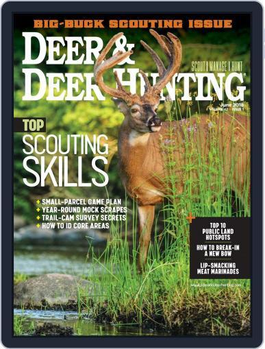 Deer & Deer Hunting (Digital) June 1st, 2018 Issue Cover