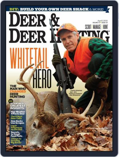 Deer & Deer Hunting (Digital) March 21st, 2018 Issue Cover