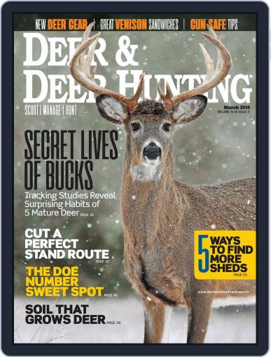 Deer & Deer Hunting March 1st, 2018 Digital Back Issue Cover