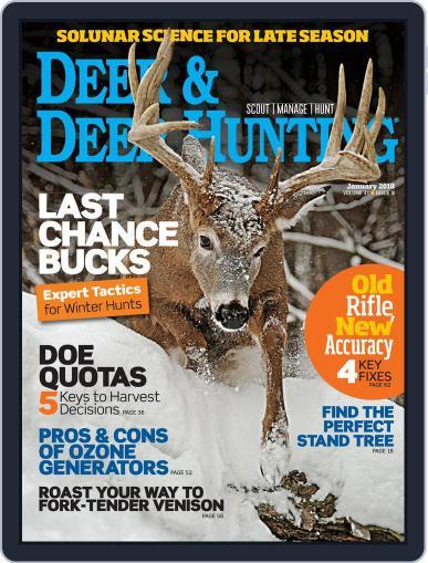 Deer & Deer Hunting (Digital) January 1st, 2018 Issue Cover