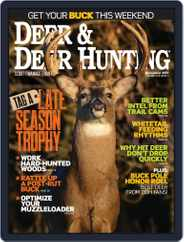 Deer & Deer Hunting (Digital) Subscription December 1st, 2017 Issue