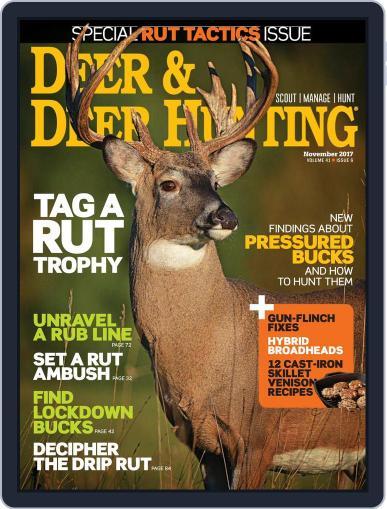 Deer & Deer Hunting (Digital) November 1st, 2017 Issue Cover