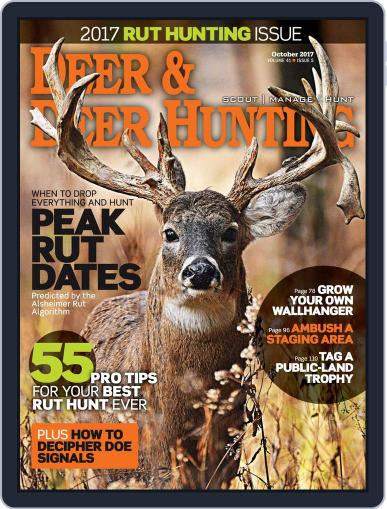 Deer & Deer Hunting (Digital) October 1st, 2017 Issue Cover