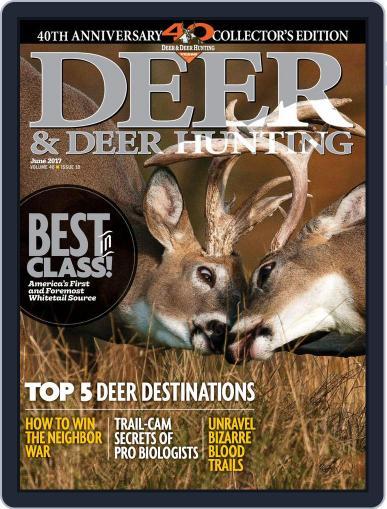 Deer & Deer Hunting June 1st, 2017 Digital Back Issue Cover