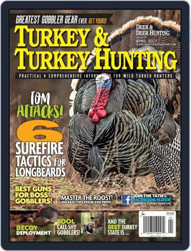 Deer & Deer Hunting April 1st, 2017 Digital Back Issue Cover
