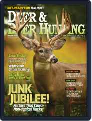 Deer & Deer Hunting (Digital) Subscription October 1st, 2016 Issue