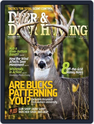 Deer & Deer Hunting August 2nd, 2016 Digital Back Issue Cover