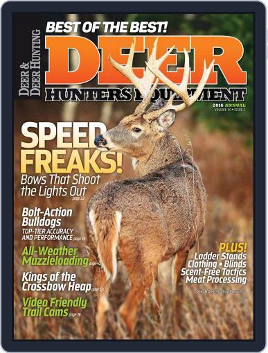 Deer & Deer Hunting (Digital) July 5th, 2016 Issue Cover