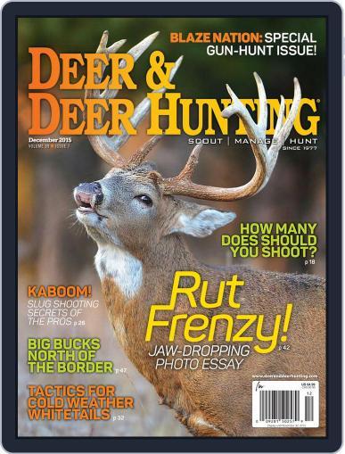 Deer & Deer Hunting December 1st, 2015 Digital Back Issue Cover