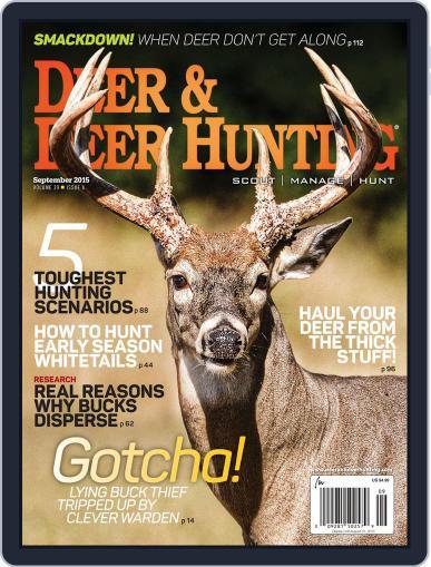 Deer & Deer Hunting (Digital) September 1st, 2015 Issue Cover