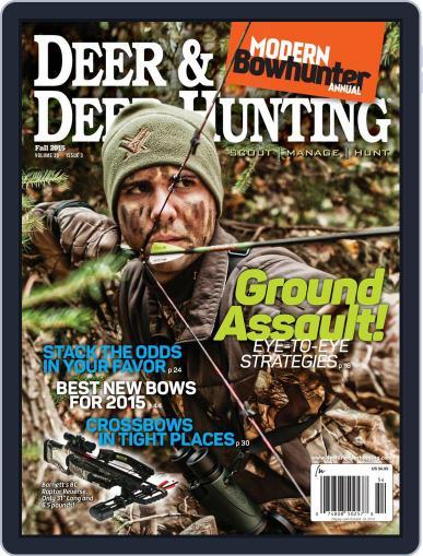Deer & Deer Hunting (Digital) July 21st, 2015 Issue Cover
