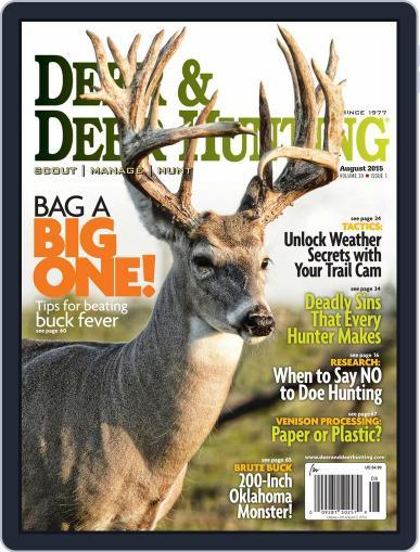 Deer & Deer Hunting (Digital) June 9th, 2015 Issue Cover