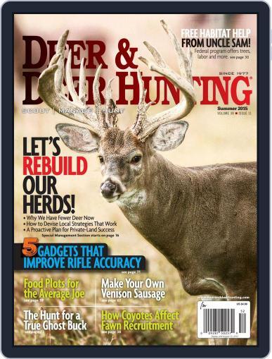 Deer & Deer Hunting (Digital) May 12th, 2015 Issue Cover
