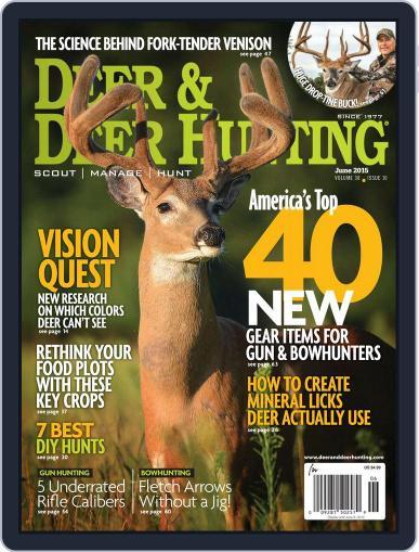 Deer & Deer Hunting March 31st, 2015 Digital Back Issue Cover