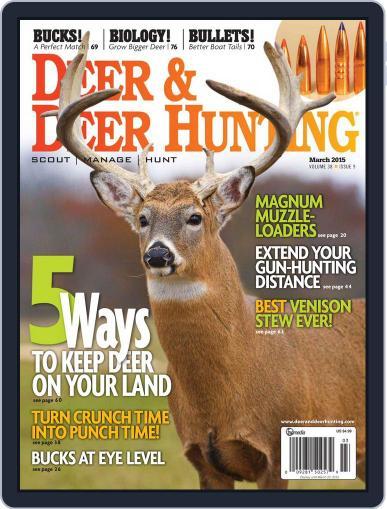 Deer & Deer Hunting (Digital) February 28th, 2015 Issue Cover