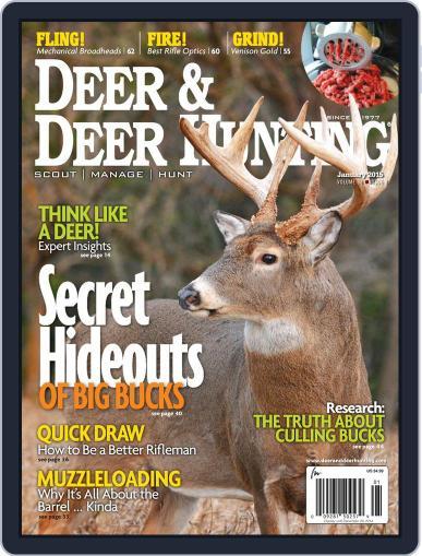 Deer & Deer Hunting (Digital) December 2nd, 2014 Issue Cover